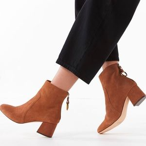Urban Outfitters Harlow Suede Ankle Boot